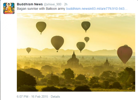 Balloon Sunrise (Bagan?)